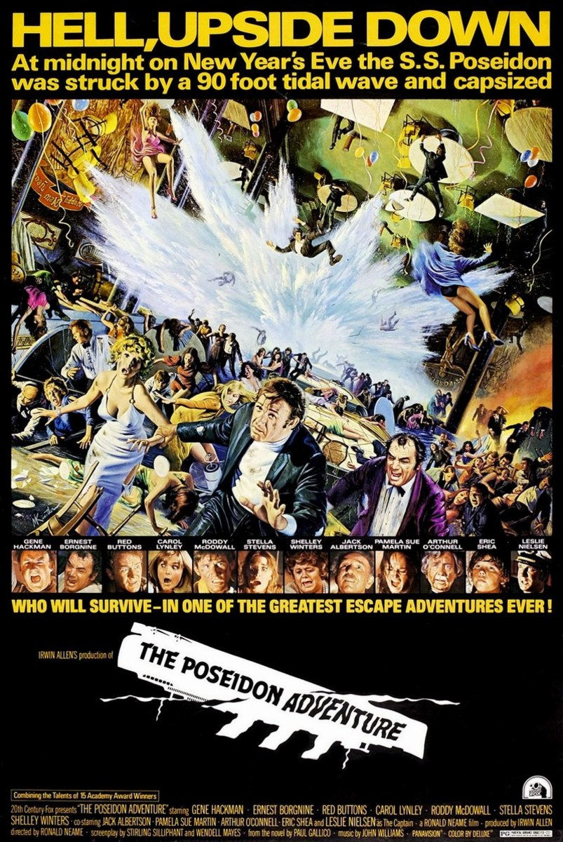 The Poseidon Adventure 1972. Art by Mort Kunstler