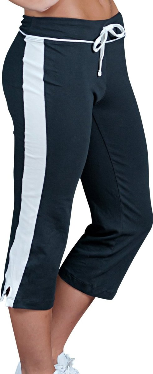 These capri pants are available up to a XXL. Be sure to measure for perfect fit.
