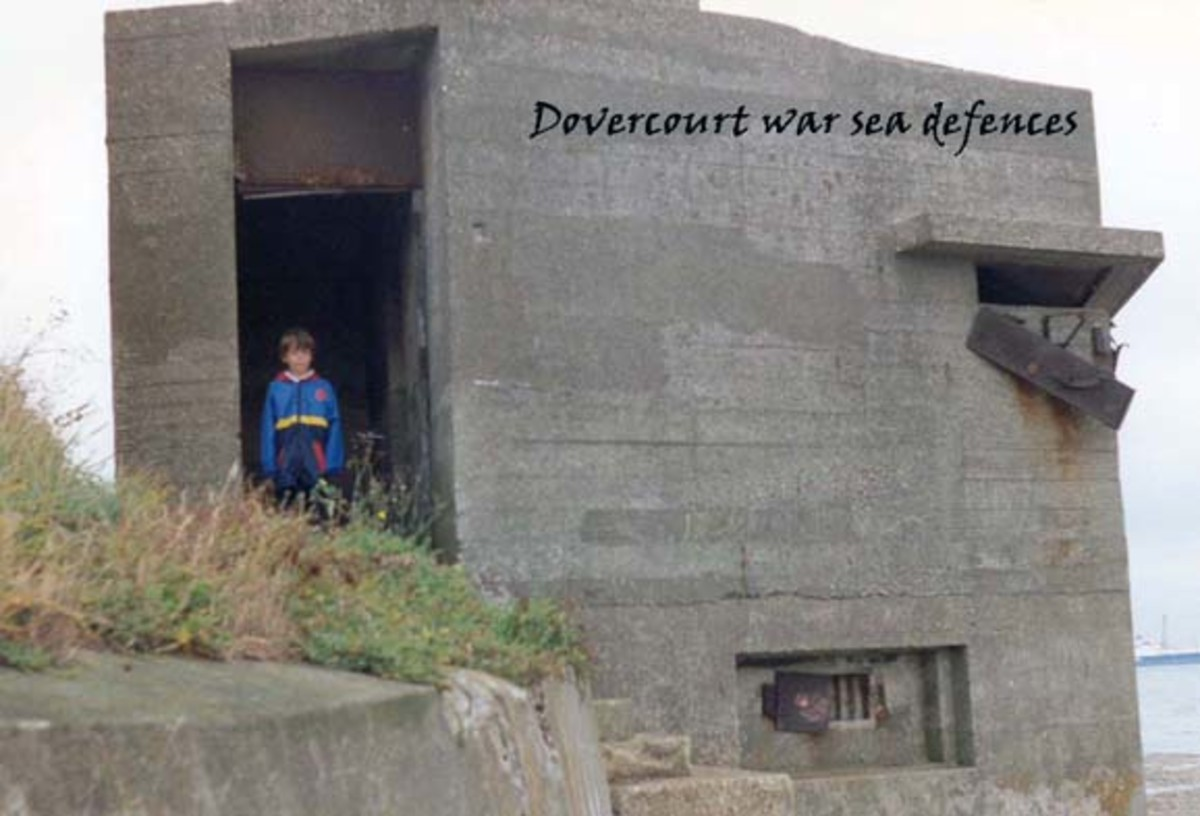 WWII Defence in Dovercourt, Essex