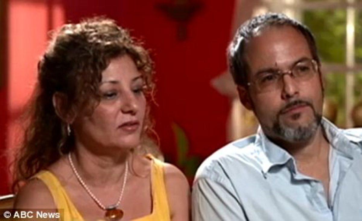 Maria ans Juan Varona, Angie's parents