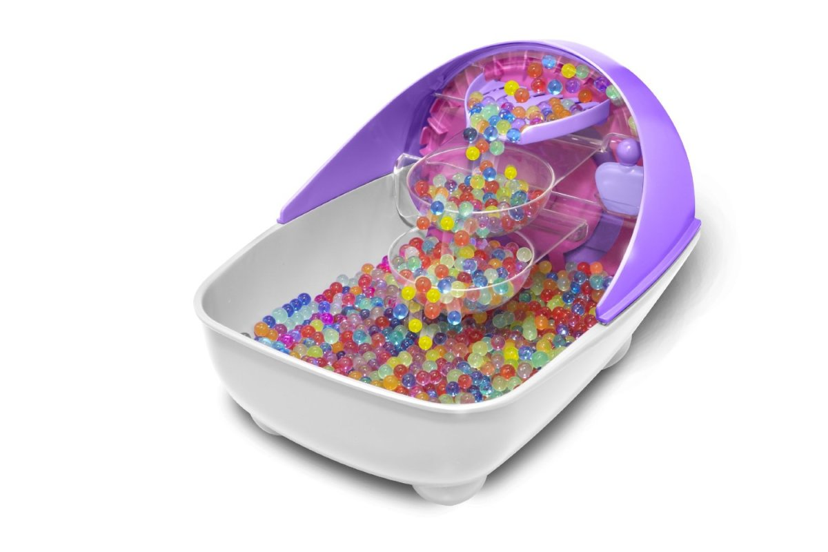 Part science, part beauty. Little girls love creating these squishy Orbeez and then sinking their feet in them!