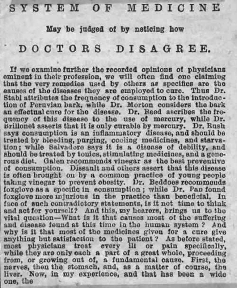 Victorian Medicine