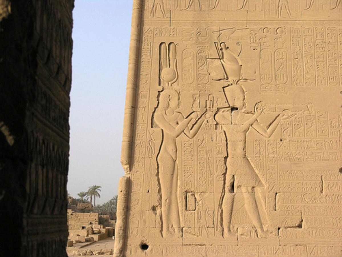 Cleopatra at Dendara by MacElwee