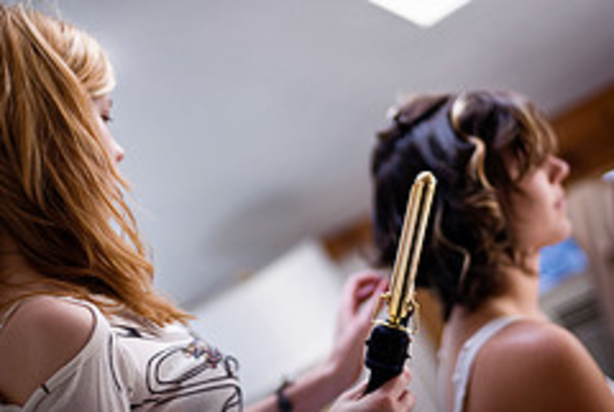 Curling irons can cause burns to shoulders, scalp or fingers