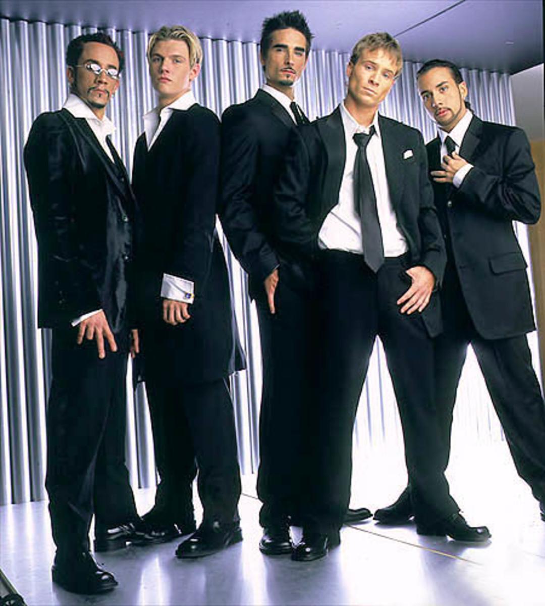 Backstreet Boys  A.J., Nick, Kevin, Brian, Howie
