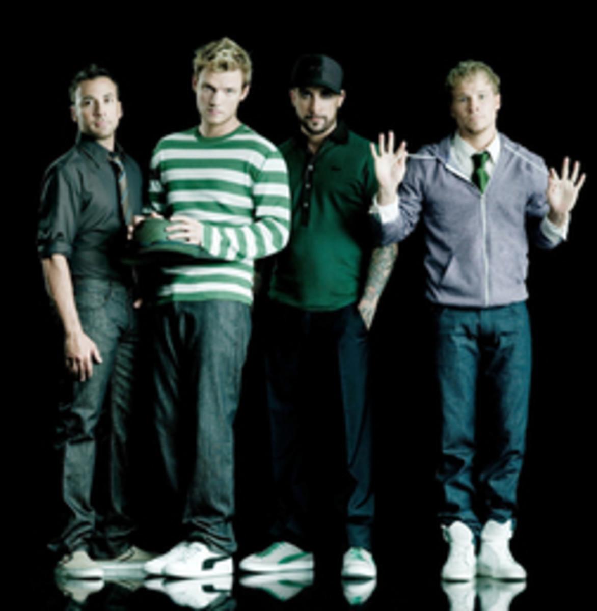 Backstreet Boys minus Kevin
