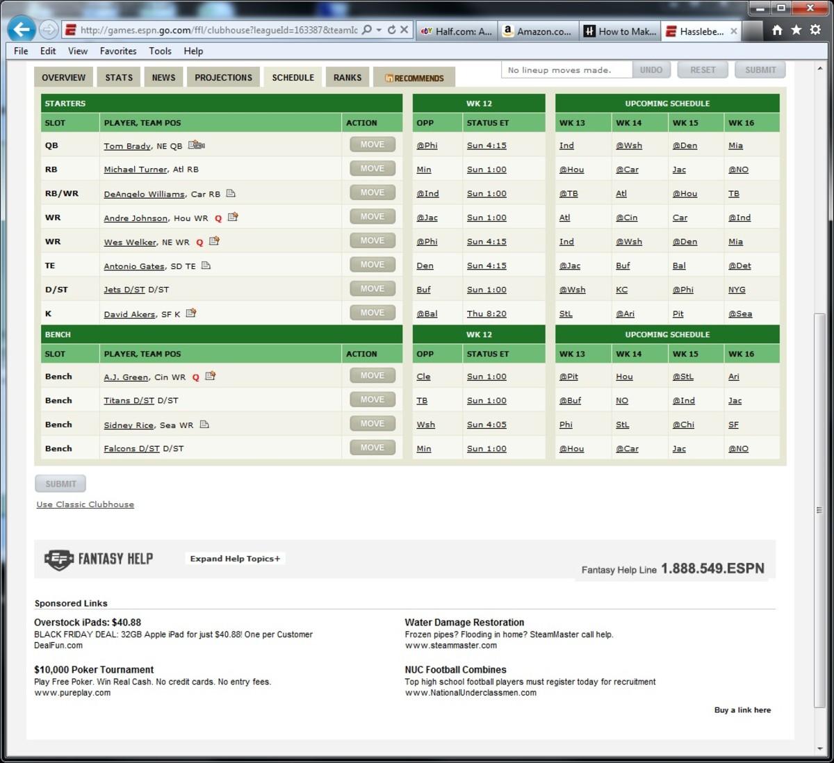 Trade options fantasy football