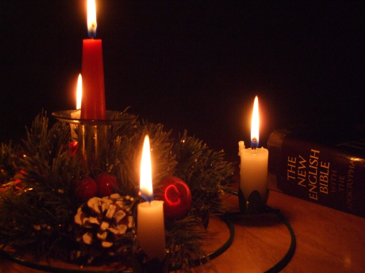 Kid Friendly Family Christmas Advent Ceremony