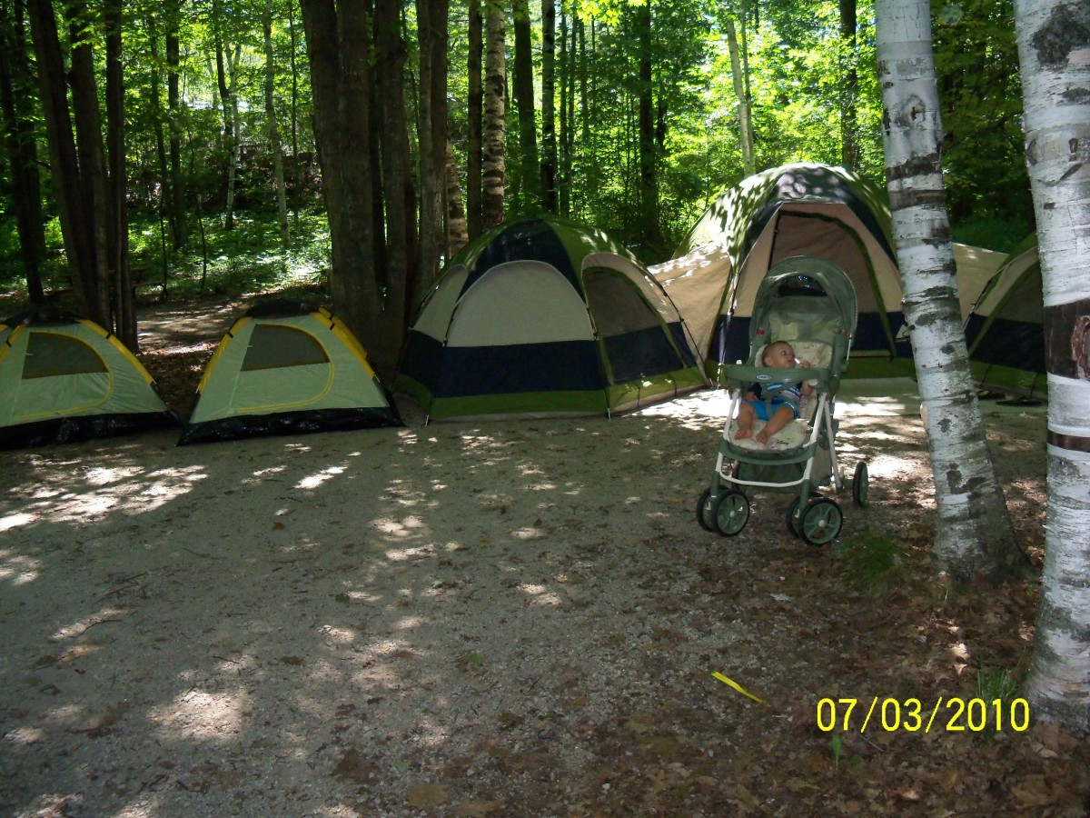 Nothing is better than getting away from it all with a good old fashioned family camping trip!