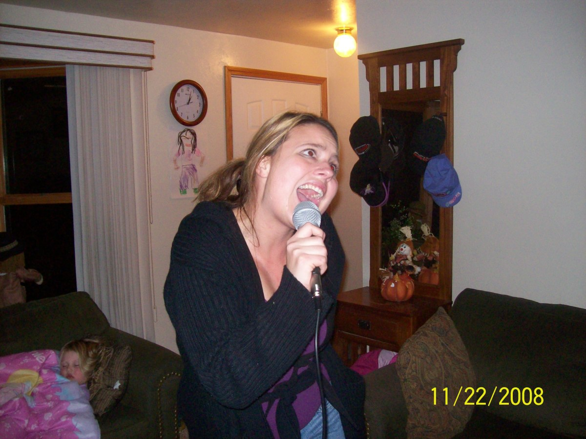 I love karaoke. So many songs to choose from and so many ears to ... er... hurt!