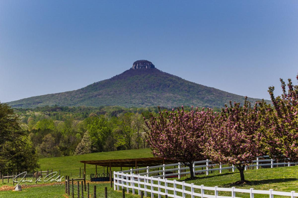 Pilot Mountain, North Carolina