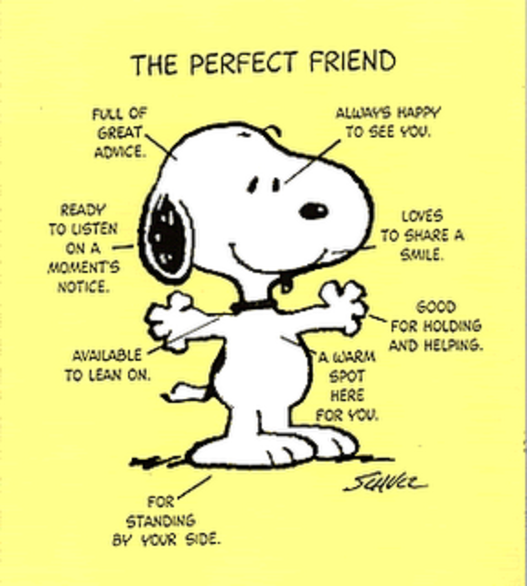 Snoopy - From 'Peanuts' by Charles M. Schulz. United Feature Syndicate.