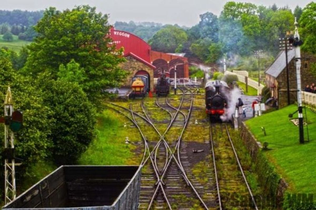 Beamish Train Station