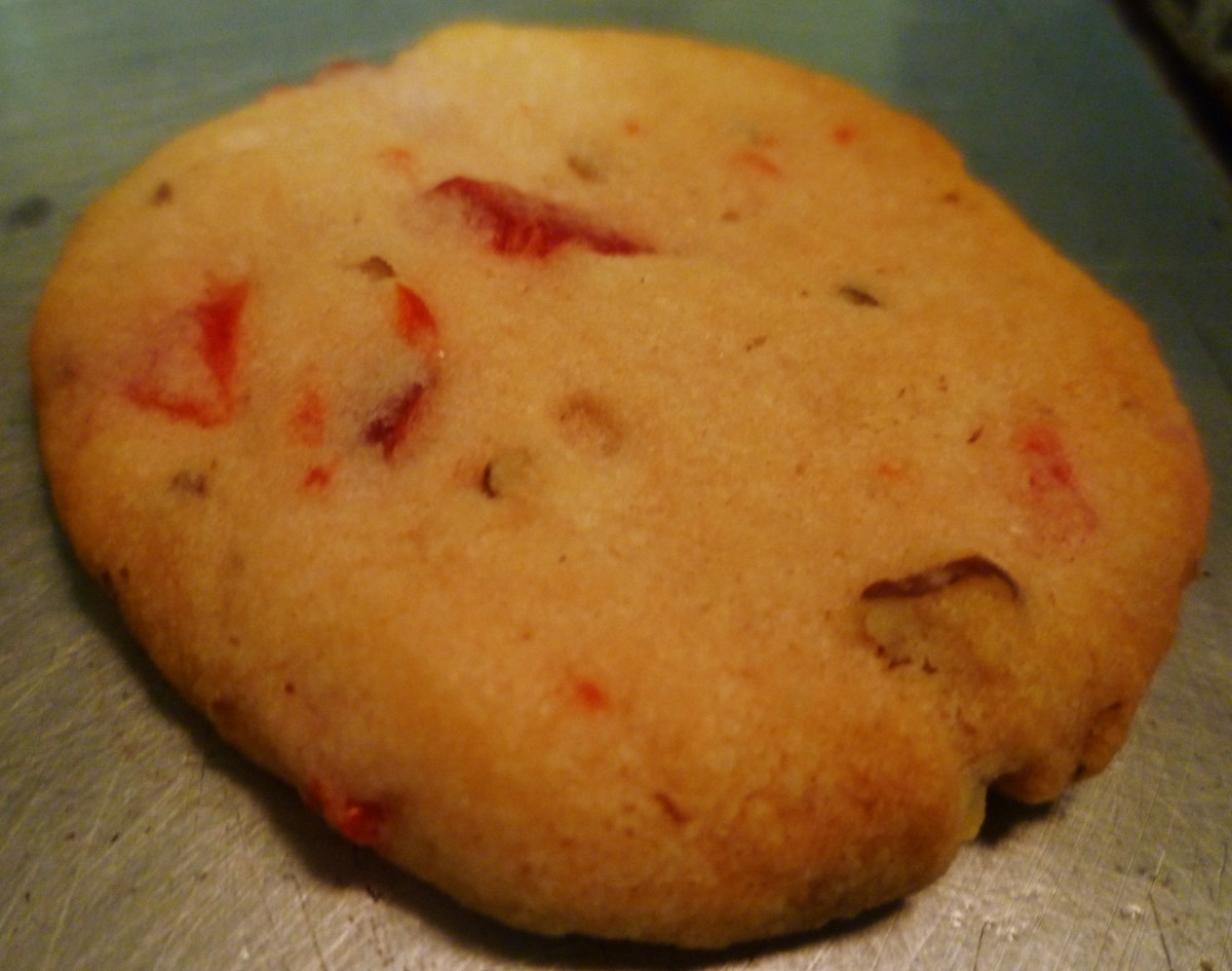 Baked M-M-M Good Cookie