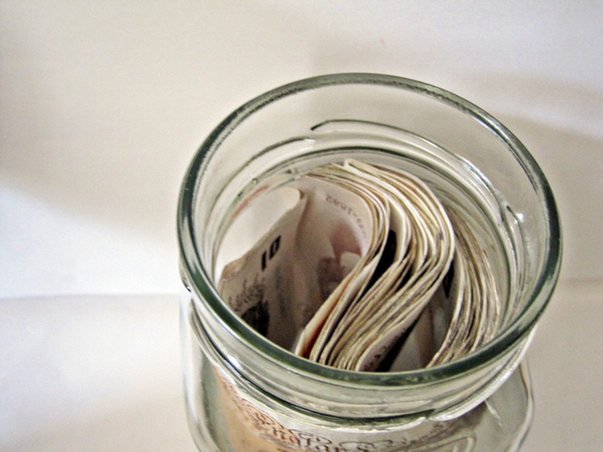 Is investing in anything the same as gambling away your money? Maybe we should keep our savings in a jar.