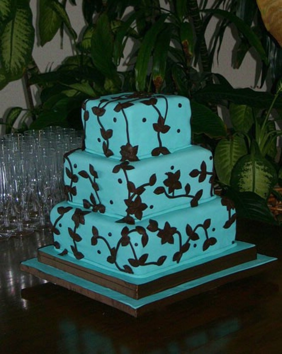Wedding Color Schemes: Best turquoise and brown wedding ideas