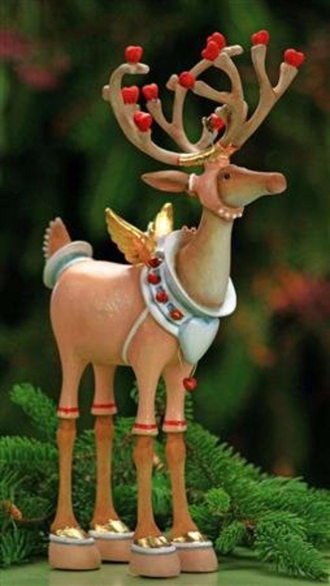 Reindeer by Patience Brewster