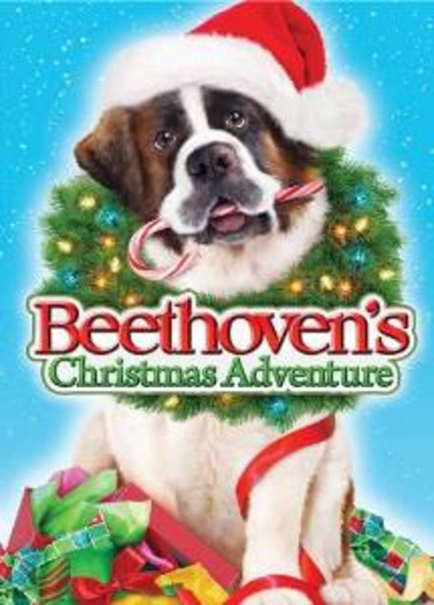 christmas films featuring dogs