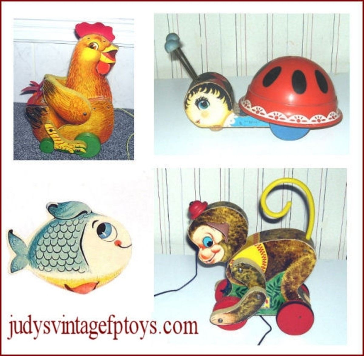 Judy's Vintage Fisher Price Toys