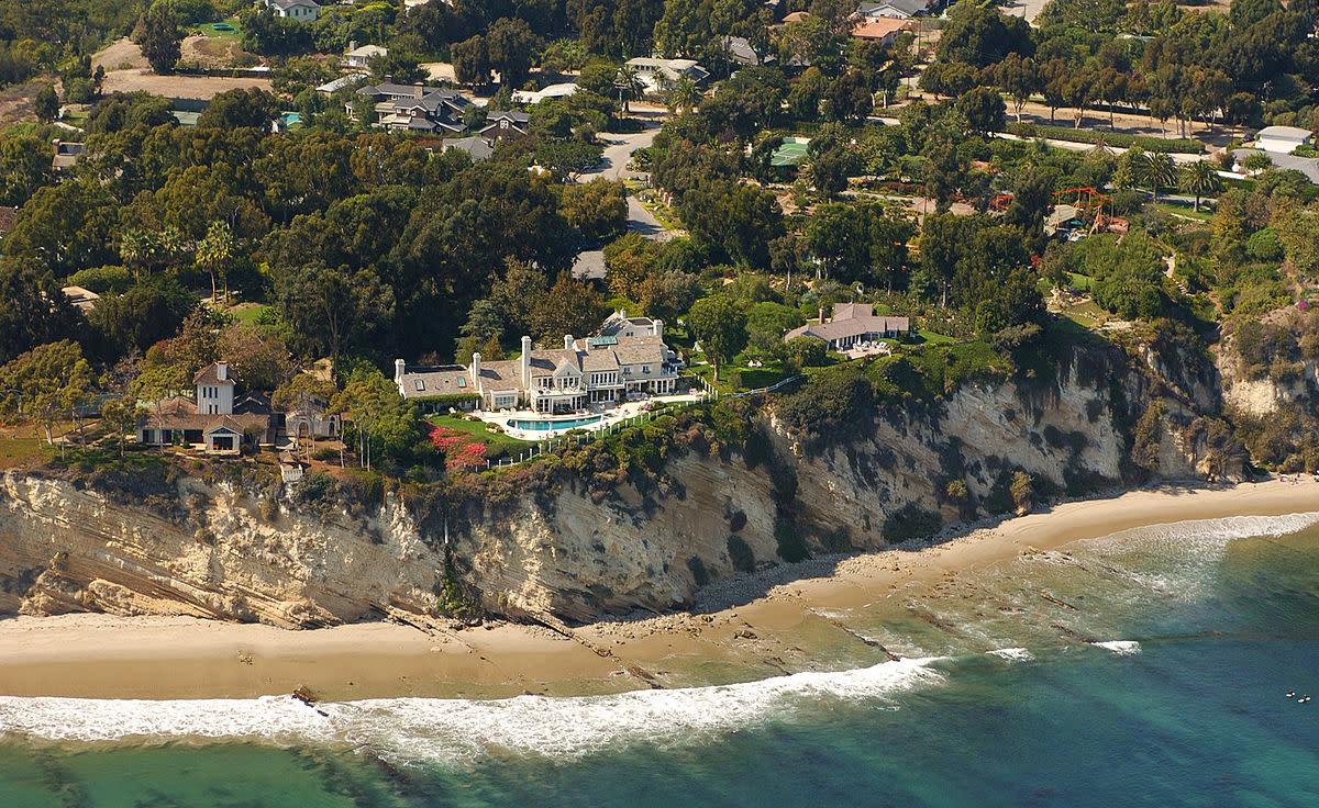 Barbra Streisand's Malibu home.