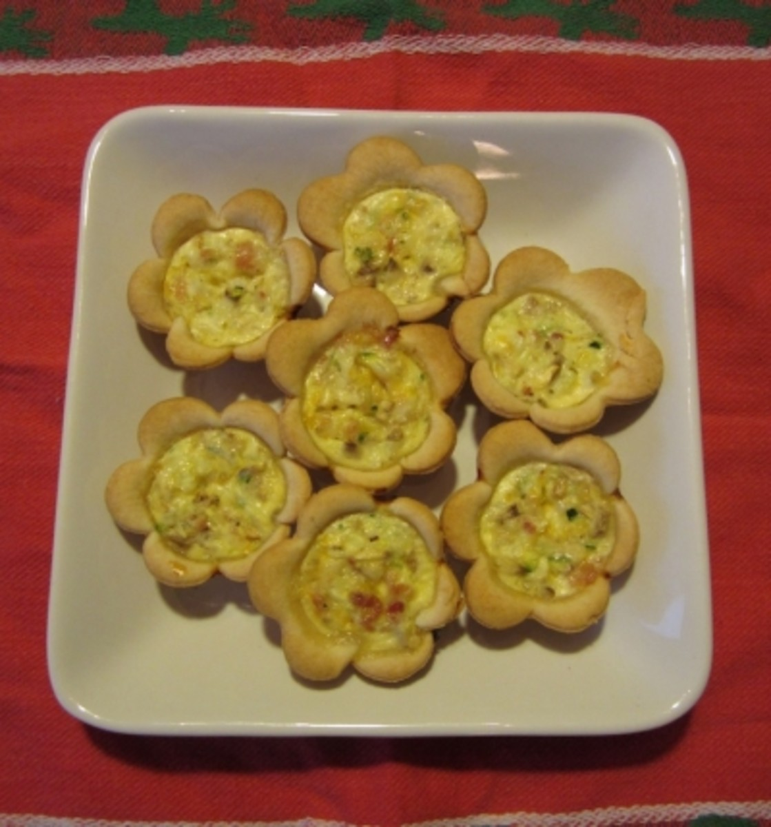 Everyone will love you when you bring these beautiful, delicious Mini Quiche to your next gathering!