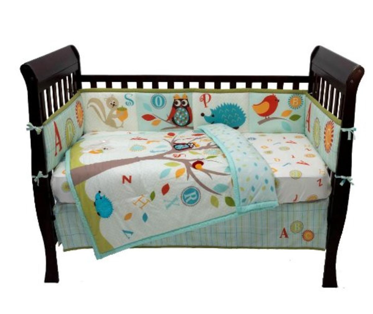Kidsline Willow Crib Bedding
