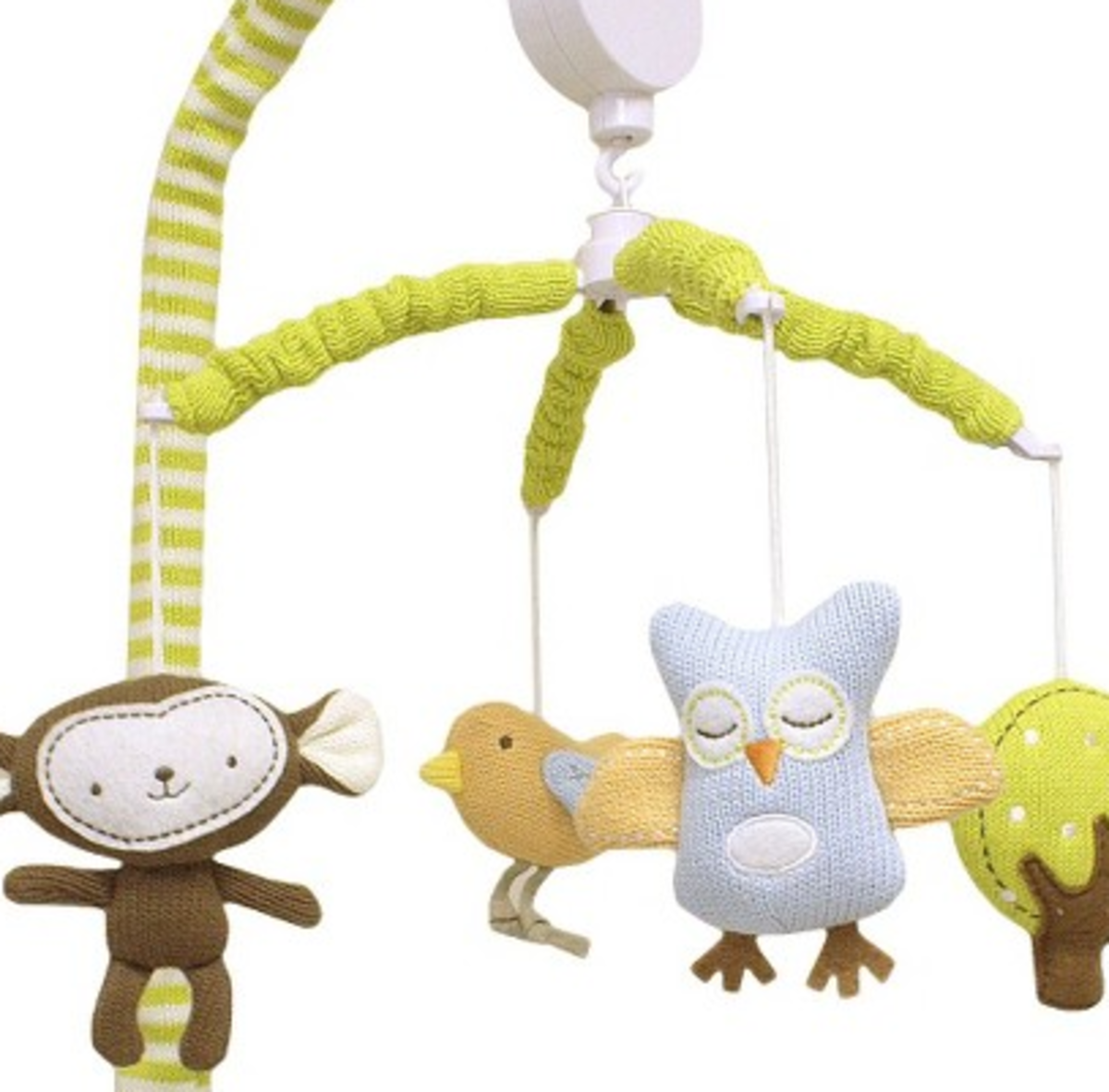 I Love The Knit Look Of The Adorable Lolli Living Monkey Mobile. It Has A  Lovely Handmade Look.