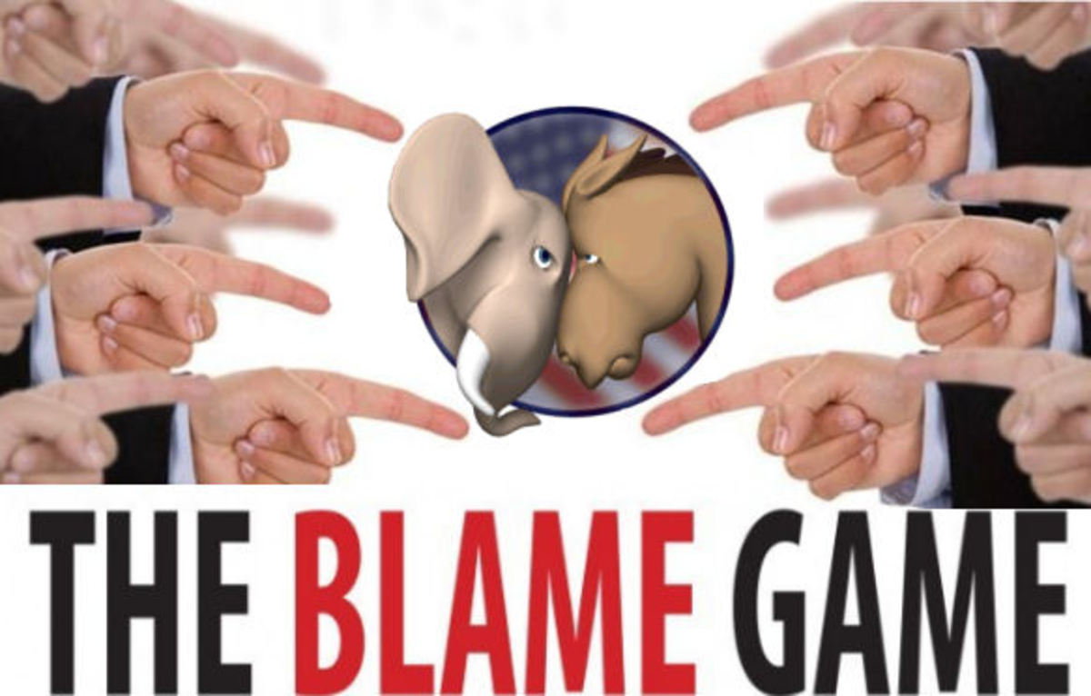 The Political Blame Game over Glass-Steagll repeal - The Only Losers Are The People