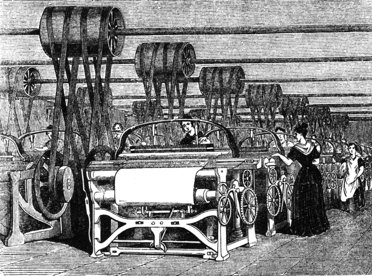 LOOMS OF THE INDUSTRIAL REVOLUTION