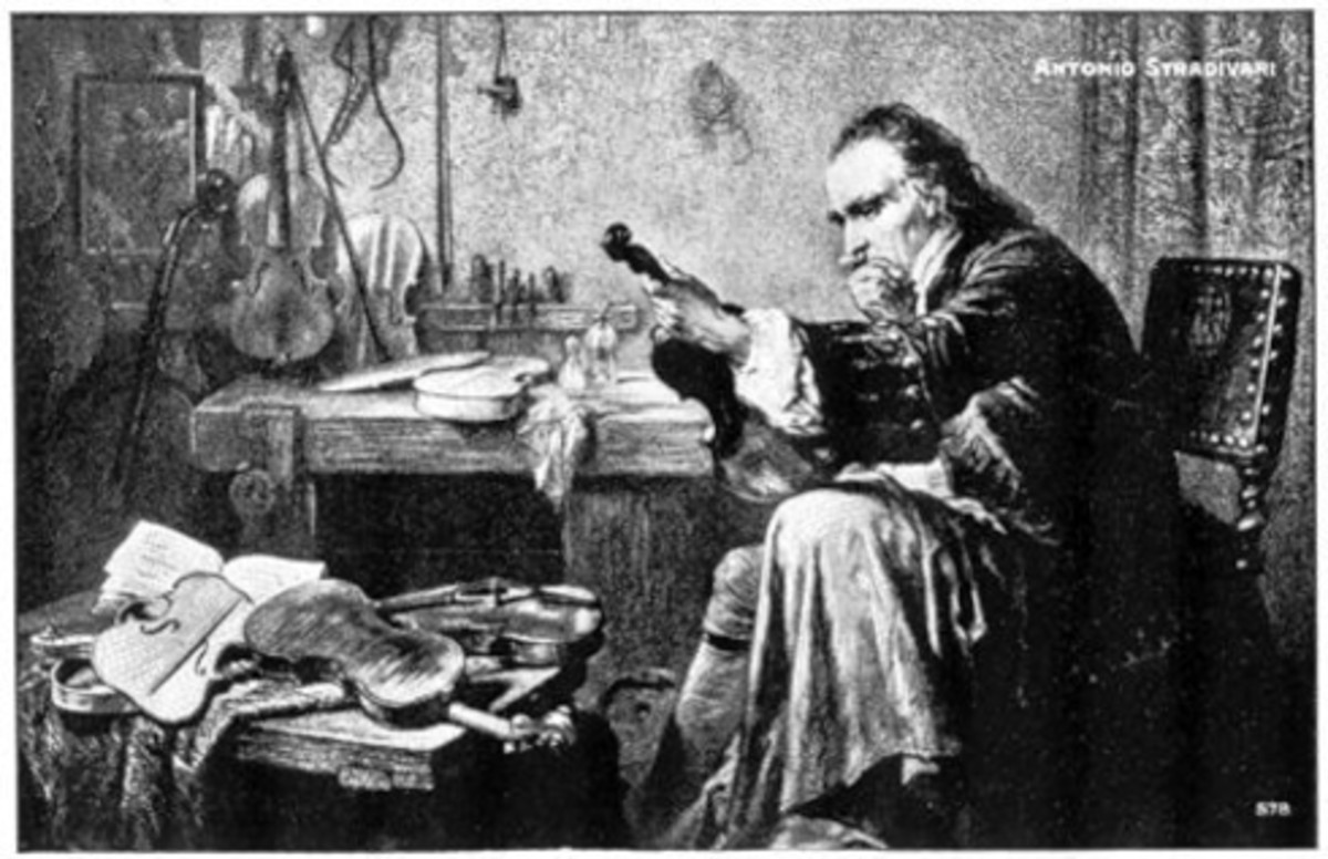ANTONIO STRADIVARI AT WORK