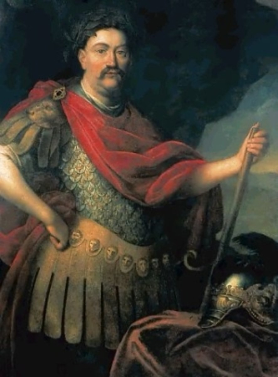 JOHN SOBIESKI, KING OF POLAND, SAVED VIENNA FROM RAPE AND PILLAGE AT THE HANDS OF MUSLIM HORDES