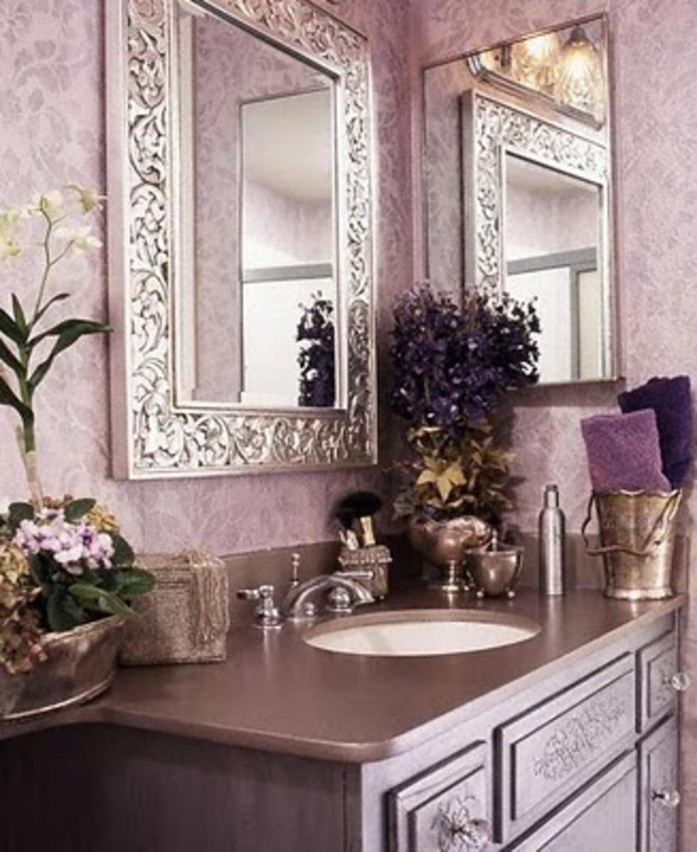 How to decorate a half bath or bathroom - How to decorate a half bath ...