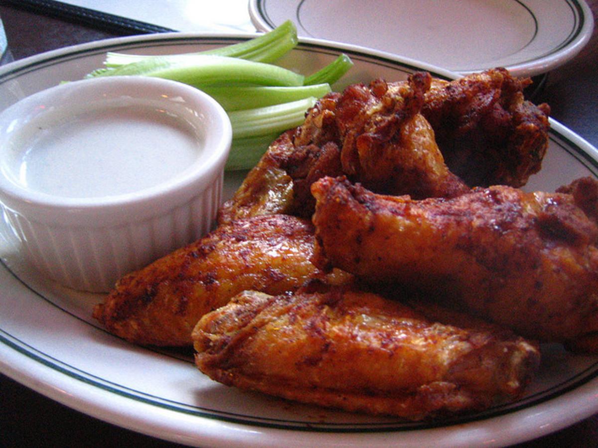 Hot Buffalo Chicken Wings