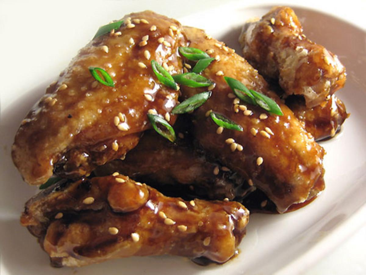 Korean Chicken Wings