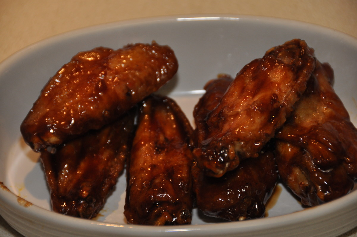 Teriyaki garlic chicken wing recipes