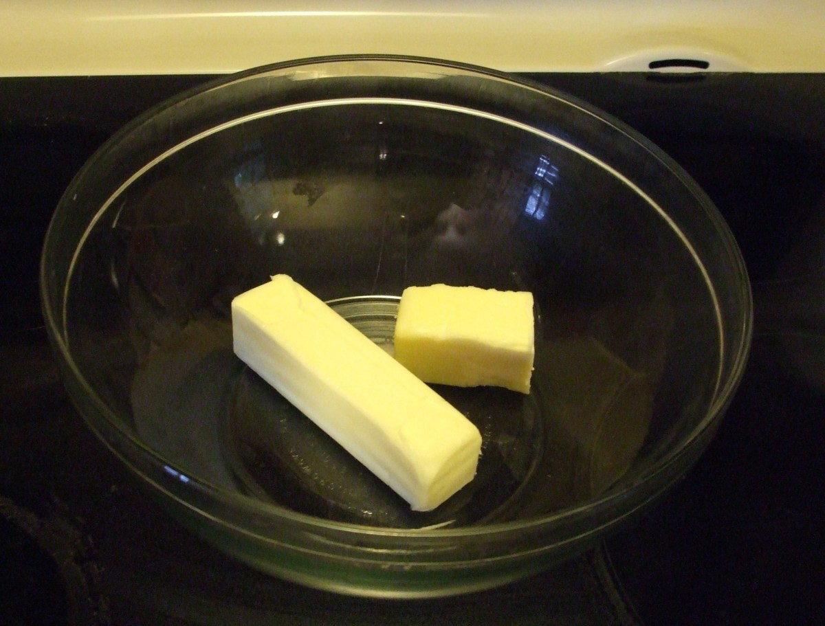 The butter, softened.