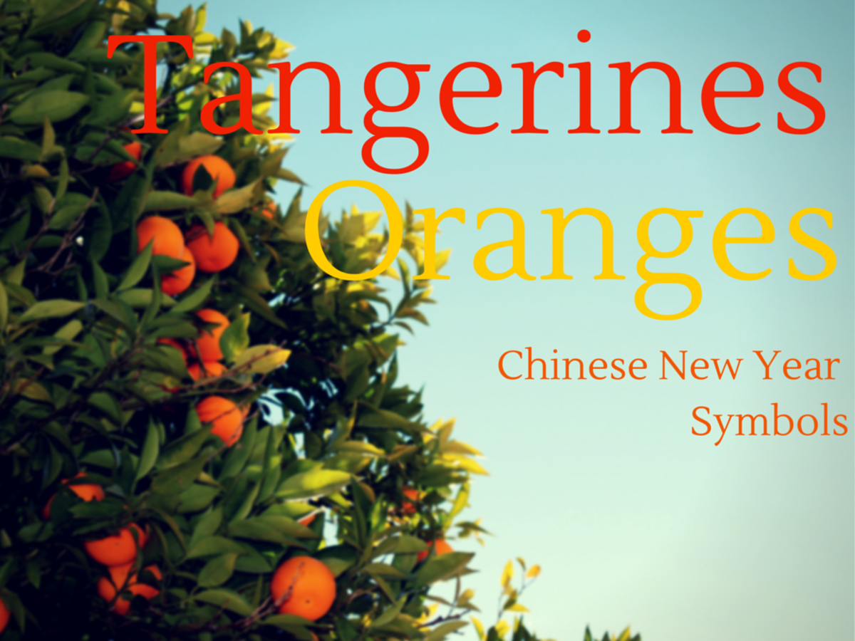 Tangerine And Orange Chinese New Year Symbols Tangerine Recipe