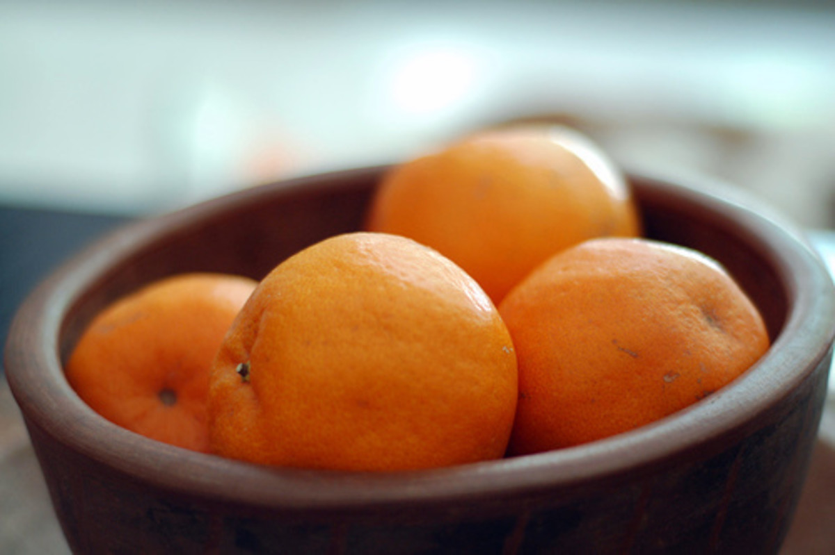 Oranges are one of the fruits that are part of the Chinese New Year symbol.
