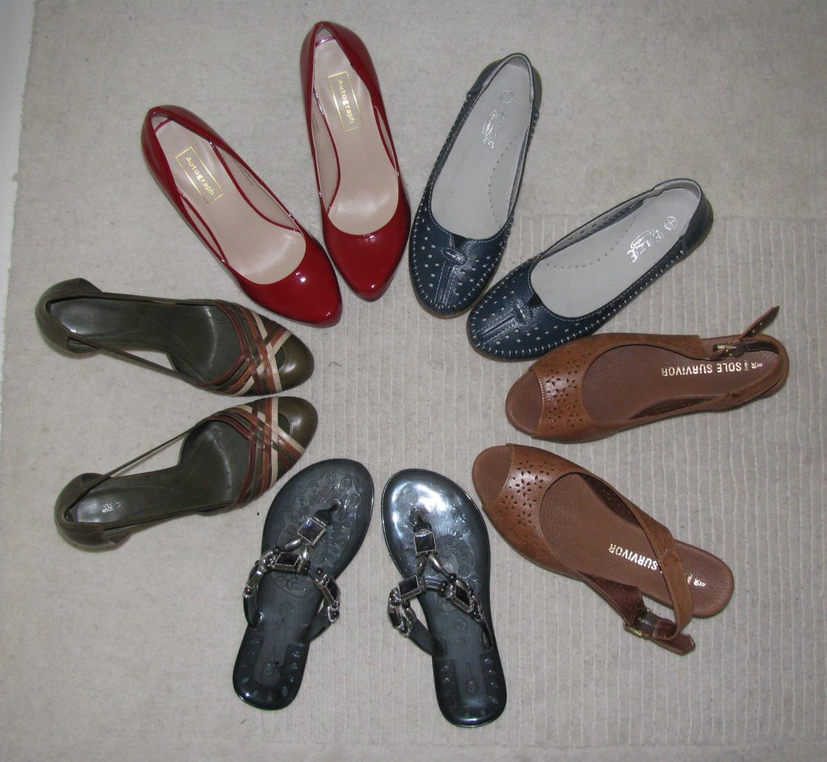 Heels, Wedges, Flip-Flops & Flats!
