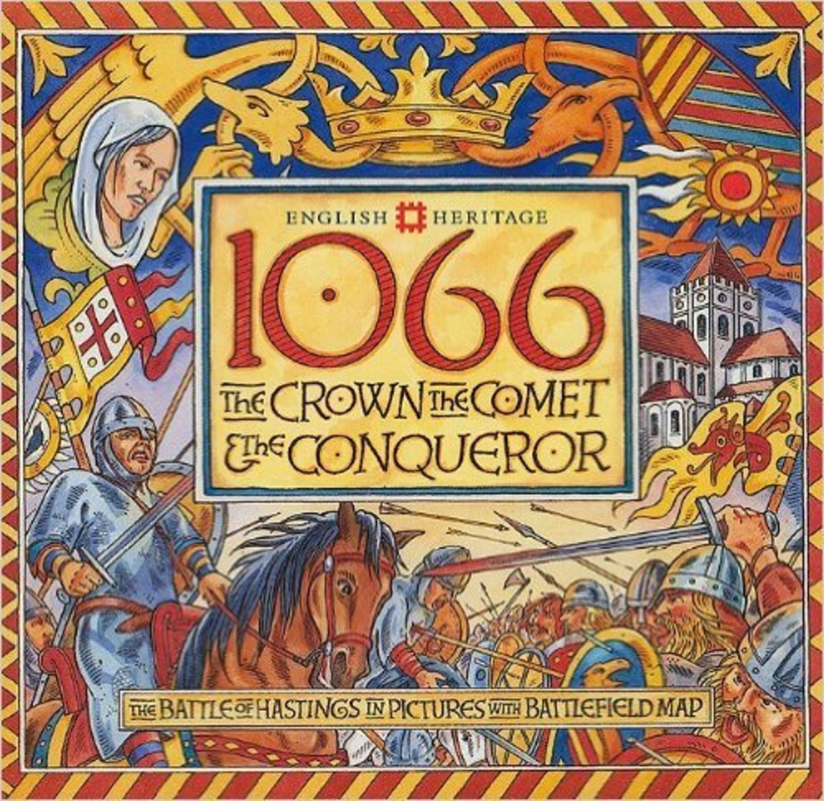 1066: The Crown, the Comet and the Conqueror by David Hobbs - All images are from amazon.com.
