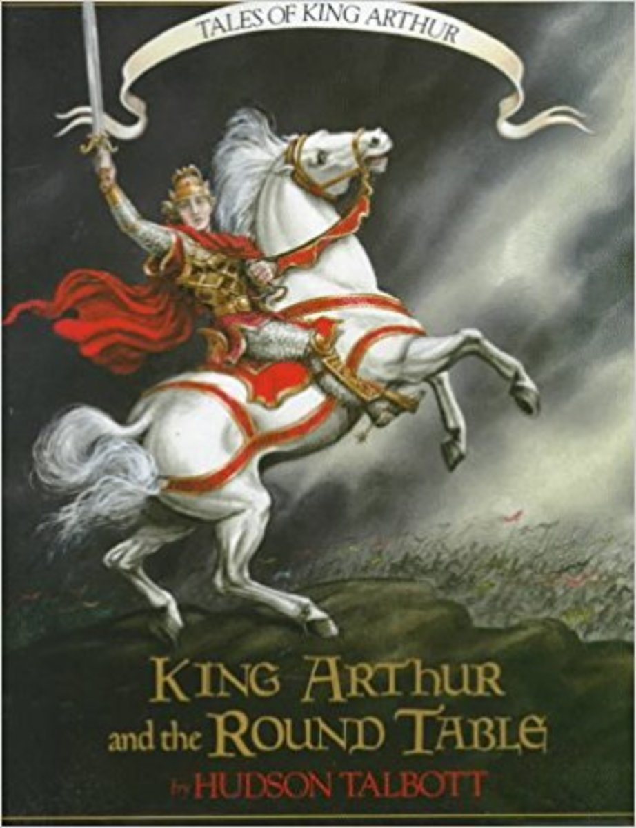 Tales of King Arthur: King Arthur and the Round Table (Books of Wonder) by Hudson Talbott
