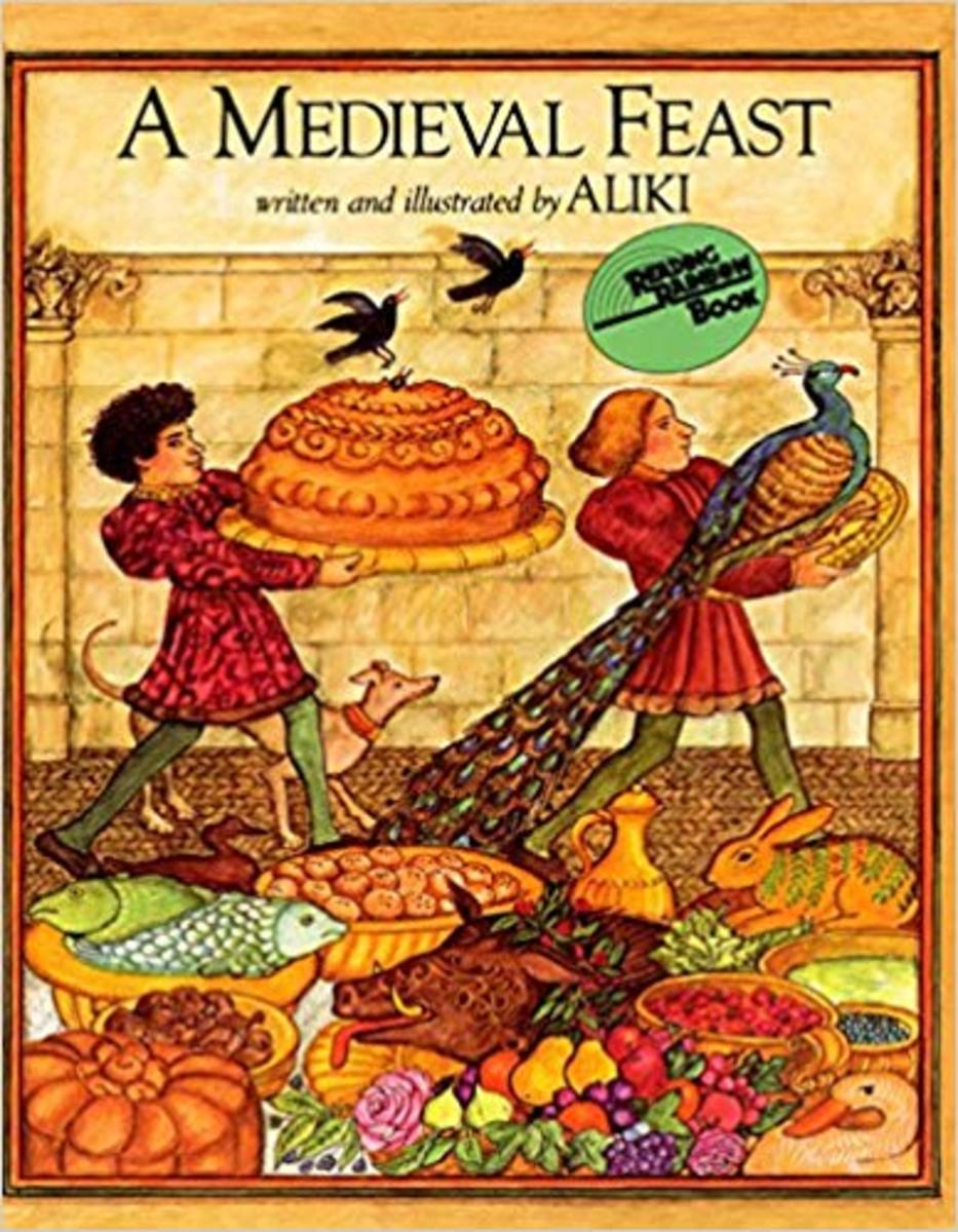 A Medieval Feast by Aliki - Book image is from amazon .com.