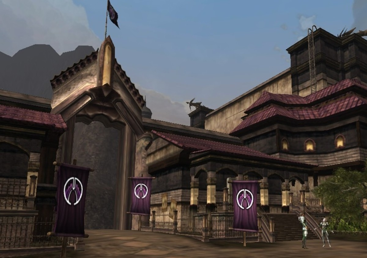 The House Deneith enclave is actually a mountain fortress inhabited by soldiers and mercenaries.