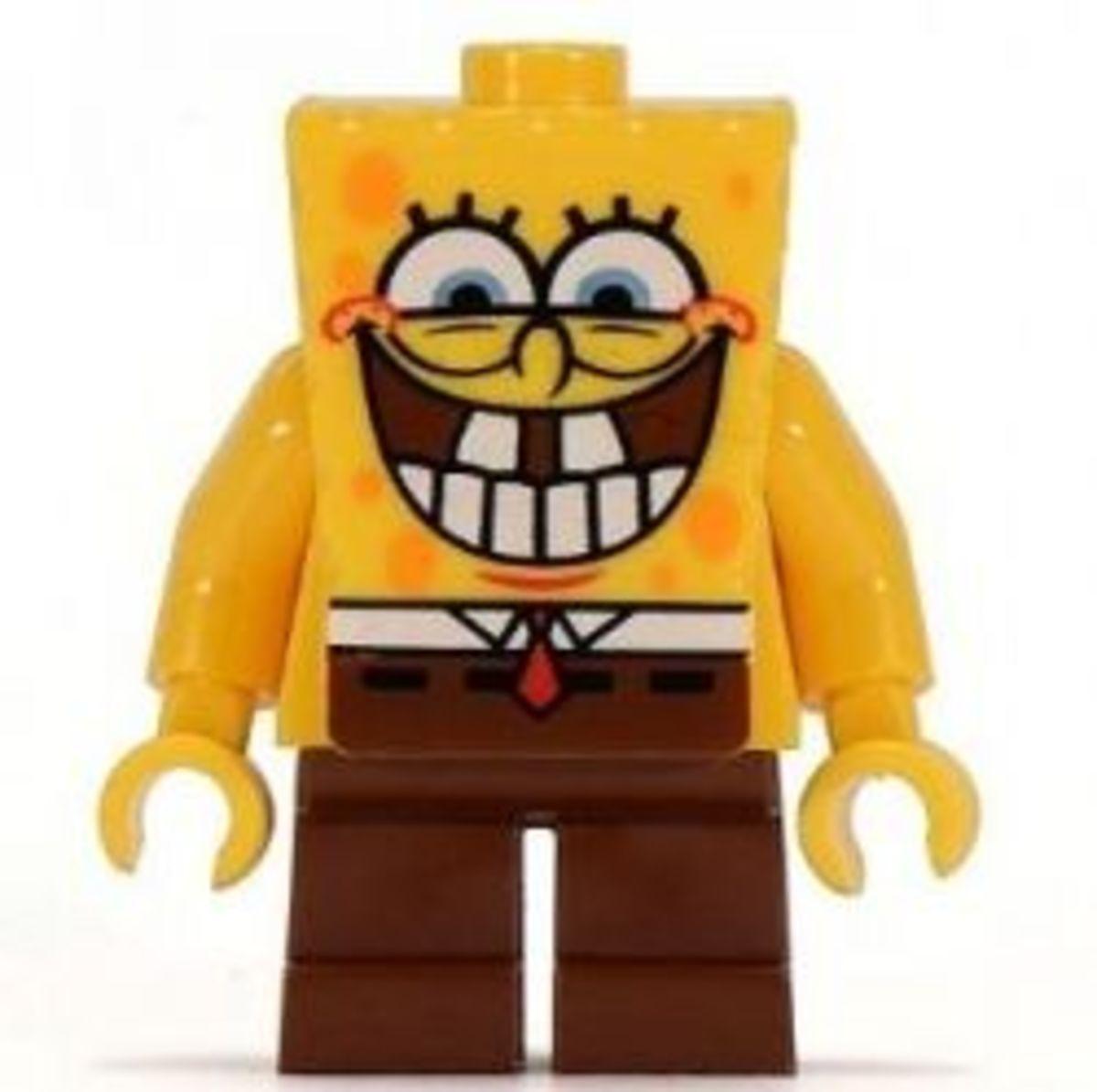 Spongebob Squarepants Cartoon Network Lego