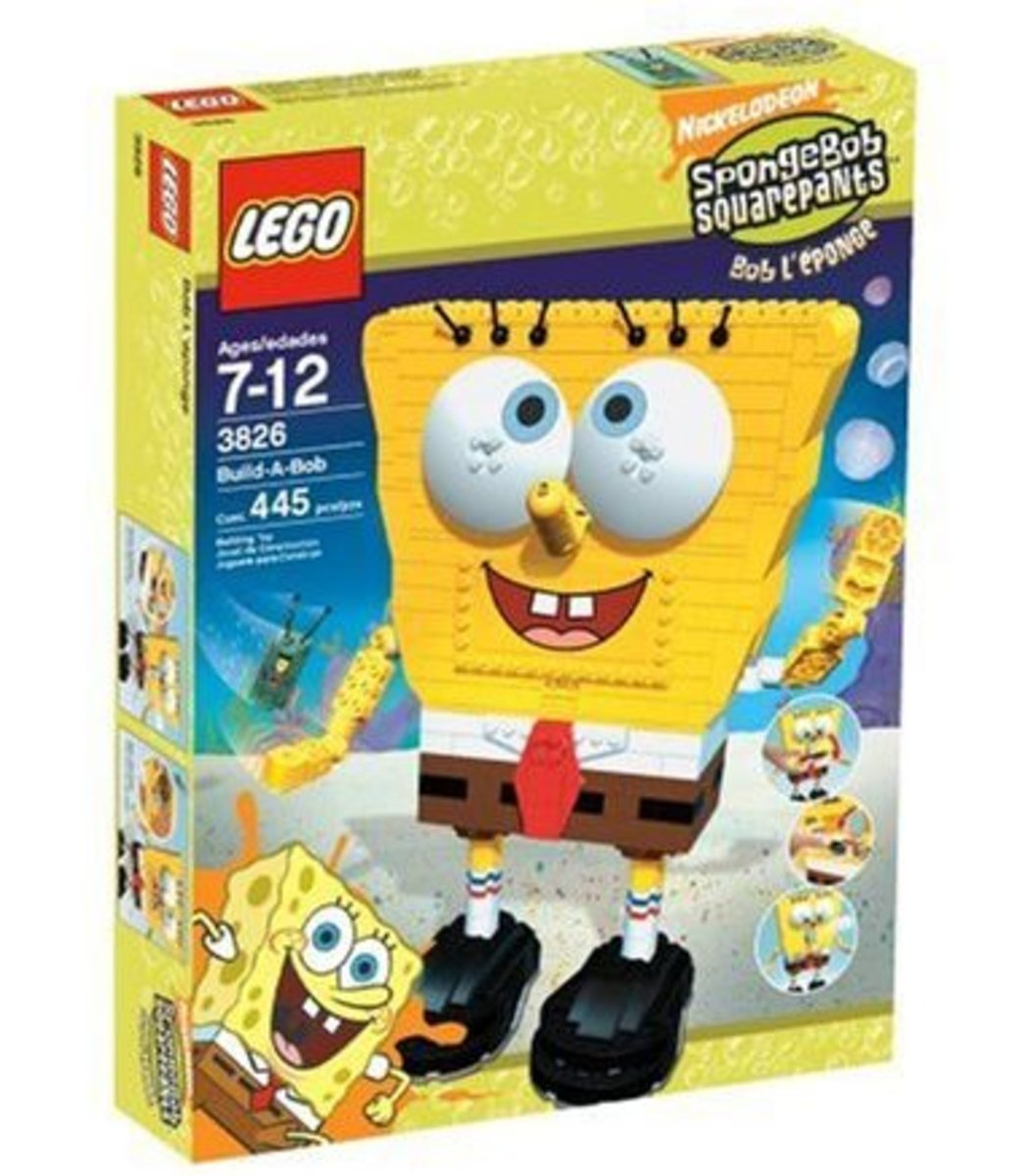 Lego Spongebob Build-A-Bob Set