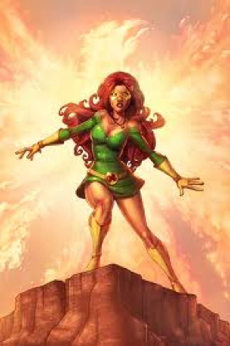 Jean Grey (Marvel Girl) from the X-Men
