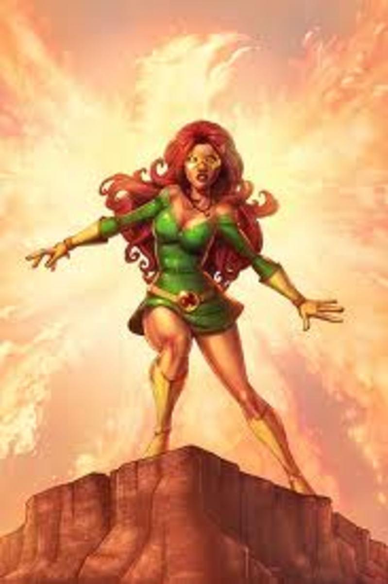 Jean Grey (Marvel Girl) from the X-Men