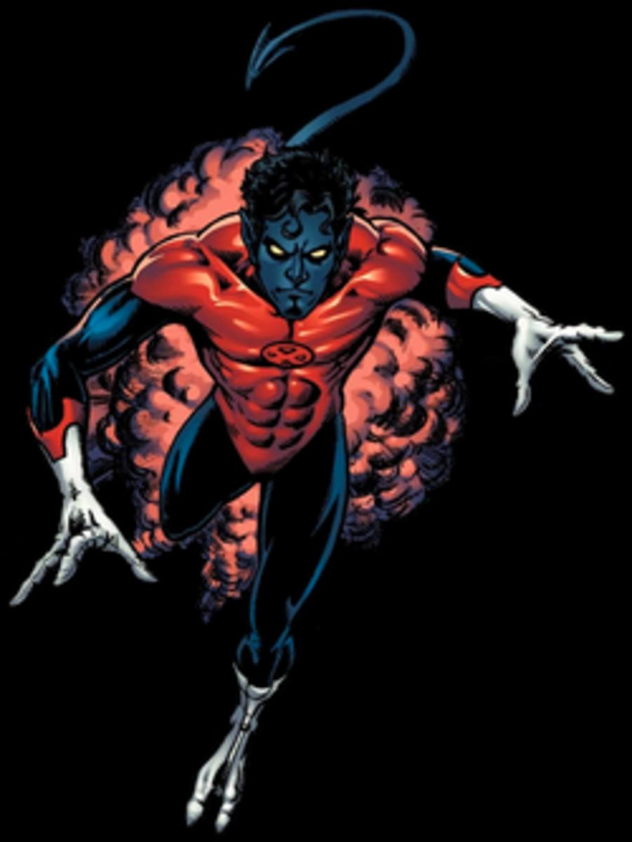 Nightcrawler from the X-Men