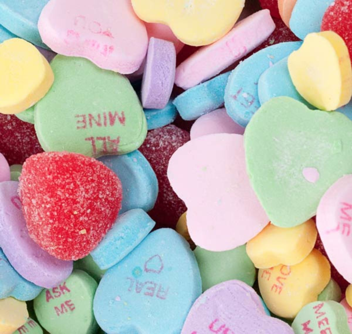 Conversation Hearts Candy