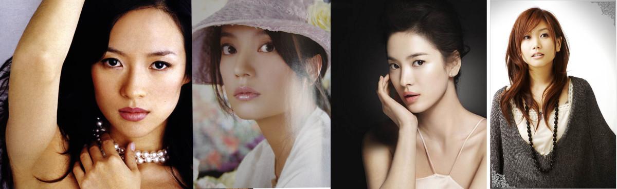 Zhang Ziyi, Zhao Wei, Song Hye Kyo,& Ai Otsuka